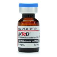 INFED, 50 mg. (Iron Dxt.) (10/Bx) * 2 mL