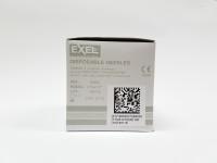 """NEEDLES 27g x 1/2"""" (Exel) (100/Bx)"""