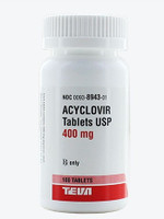 ACYCLOVIR, 400 mg. Tablets (100)