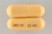 AMOXICILLIN, 500 mg Capsules (500)