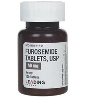 FUROSEMIDE, 40 mg.  Tablets  (100)