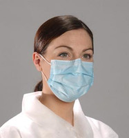 MASK -  Disposable Face Mask - BLUE (50/Bx)