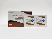 PVP PREP PADS - Iodine  (100/Bx)