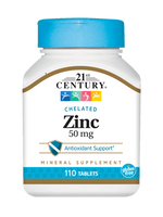 Zinc Chelated  - 110 Tablets