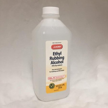 ETHYL ALCOHOL 70% - 16 oz