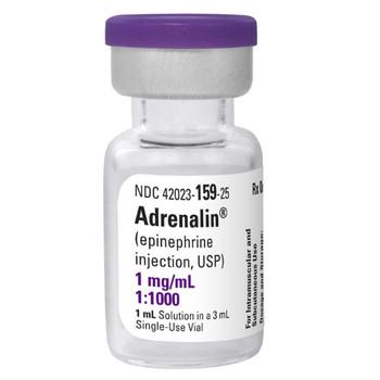 EPINEPHRINE, 1 mg/mL * 1 mL (Single-Dose vial)
