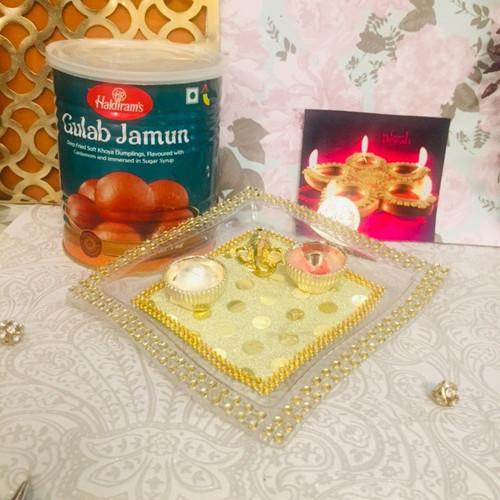 Diwali Thali of Sweetness
