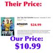 Star Trek Epic Episodes Paperback