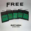 One Cent - Batman Forever Enamel Pinback Earrings