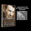 Exclusive Edition:  Leonard Hardcover Book with Mr. Shatner's Personal Bookplate