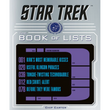 Star Trek Book of Lists by Chip Carter