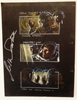 Star Trek The Motion Picture Hand Drawn Storyboard Frame 44, 45 and 46 - Autographed by William Shatner
