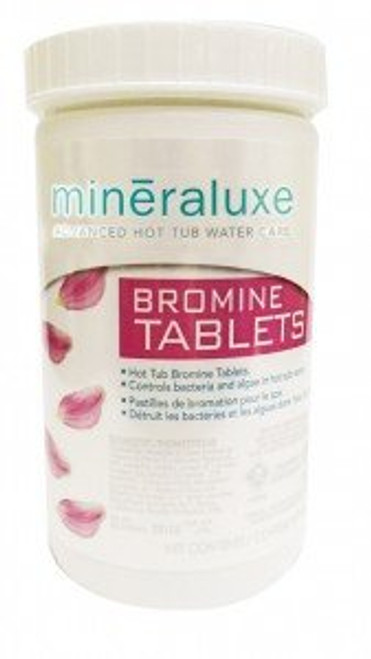 """Mineraluxe Dazzle 1 """" Bromine Tablets ( 200 g 480 gr containers )"""