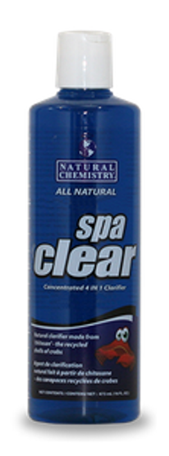 Natural Chemistry - Spa Clear 4 in 1 Natural Clarifier