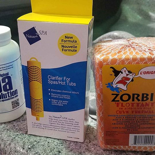This trio pack will help keep your water clear and inviting .  - reduces scum lines  - dirty foam - murky water - unpleasant smells