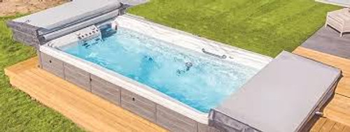 """swim spa cover replacement all make and models 1-855-248-0777 4-piece swim spa covers up to a maximum of 96"""" x 200"""""""