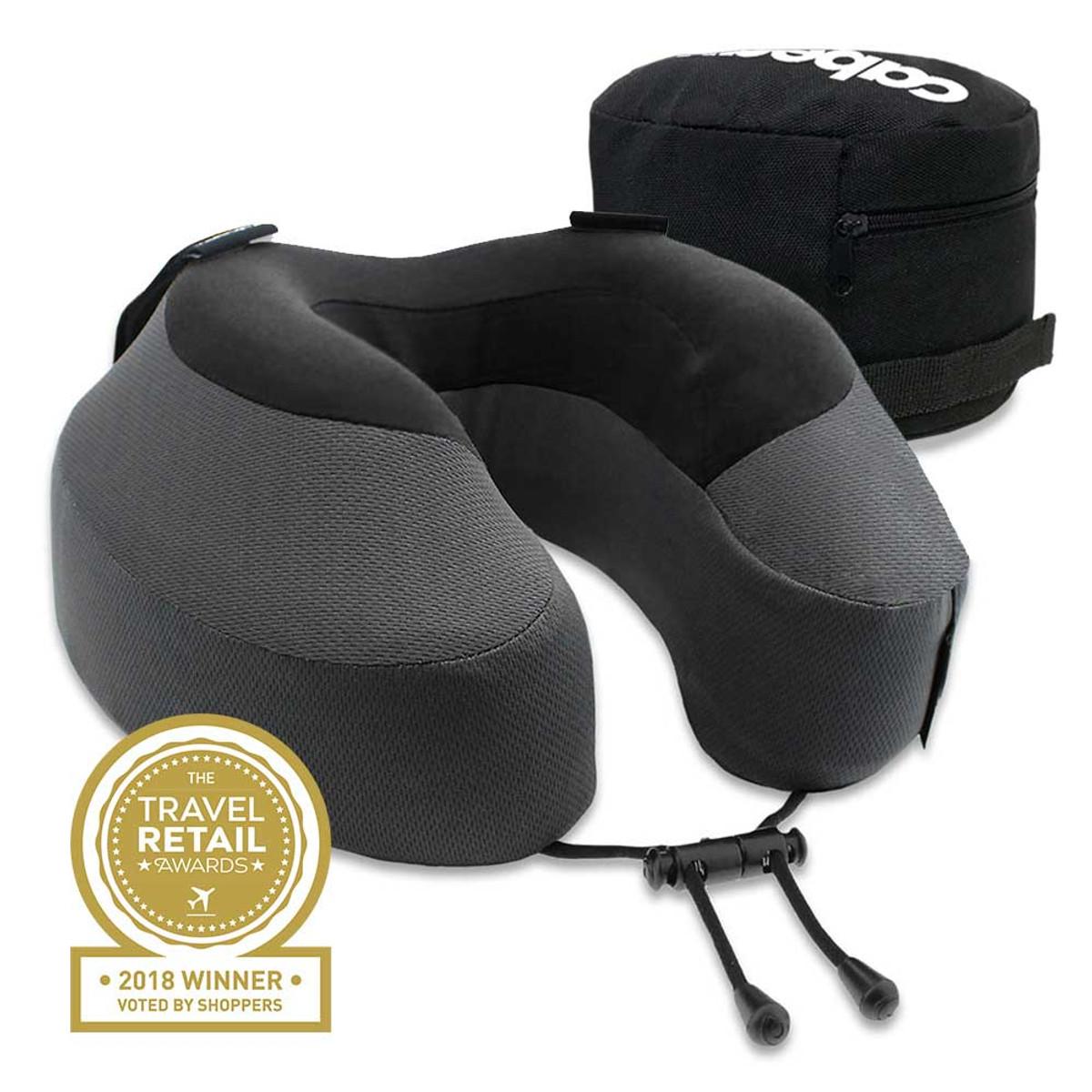 Cabeau Evolution Pillow S3 memory foam pillow, steel grey