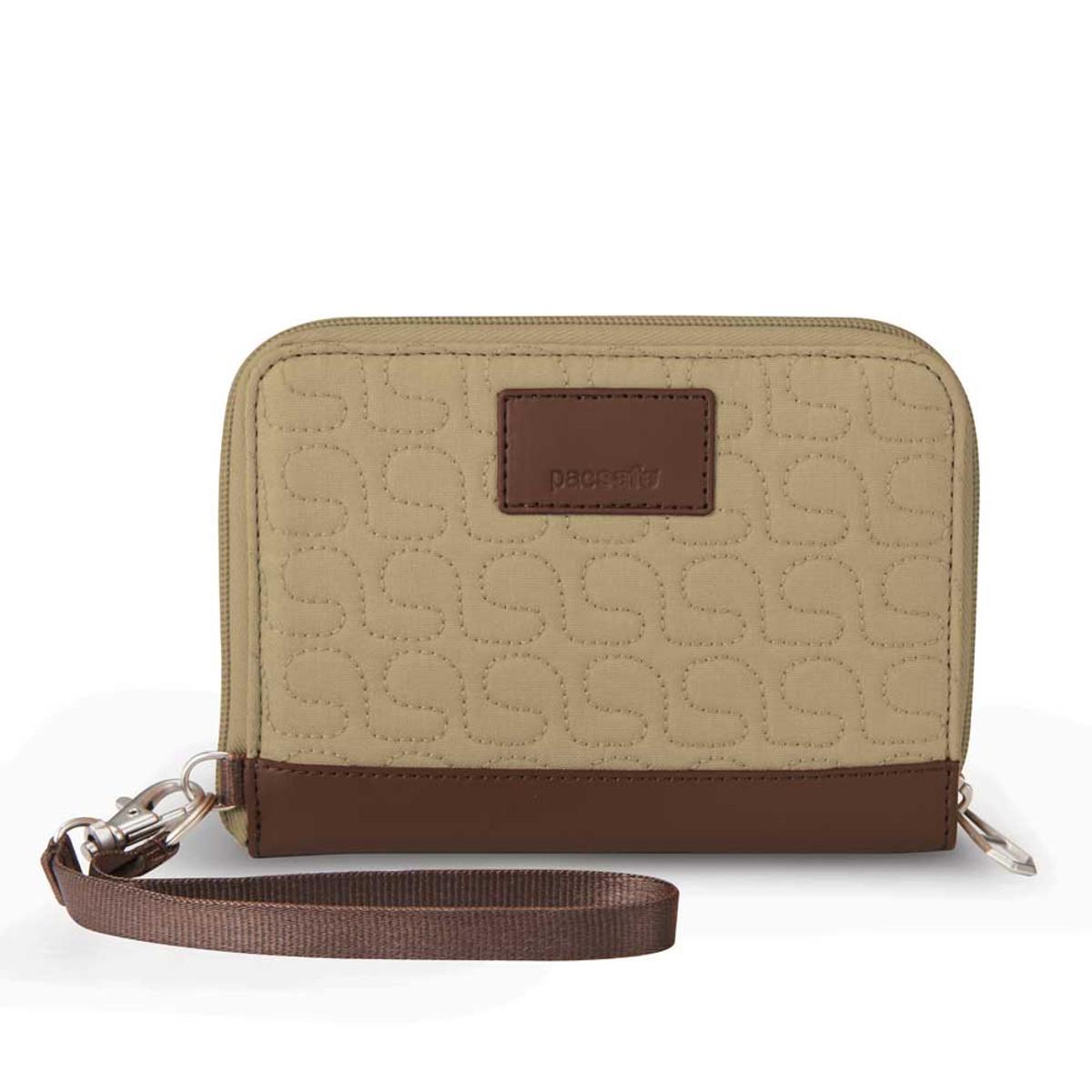 Pacsafe W150 RFID blocking wallet  Rosemary