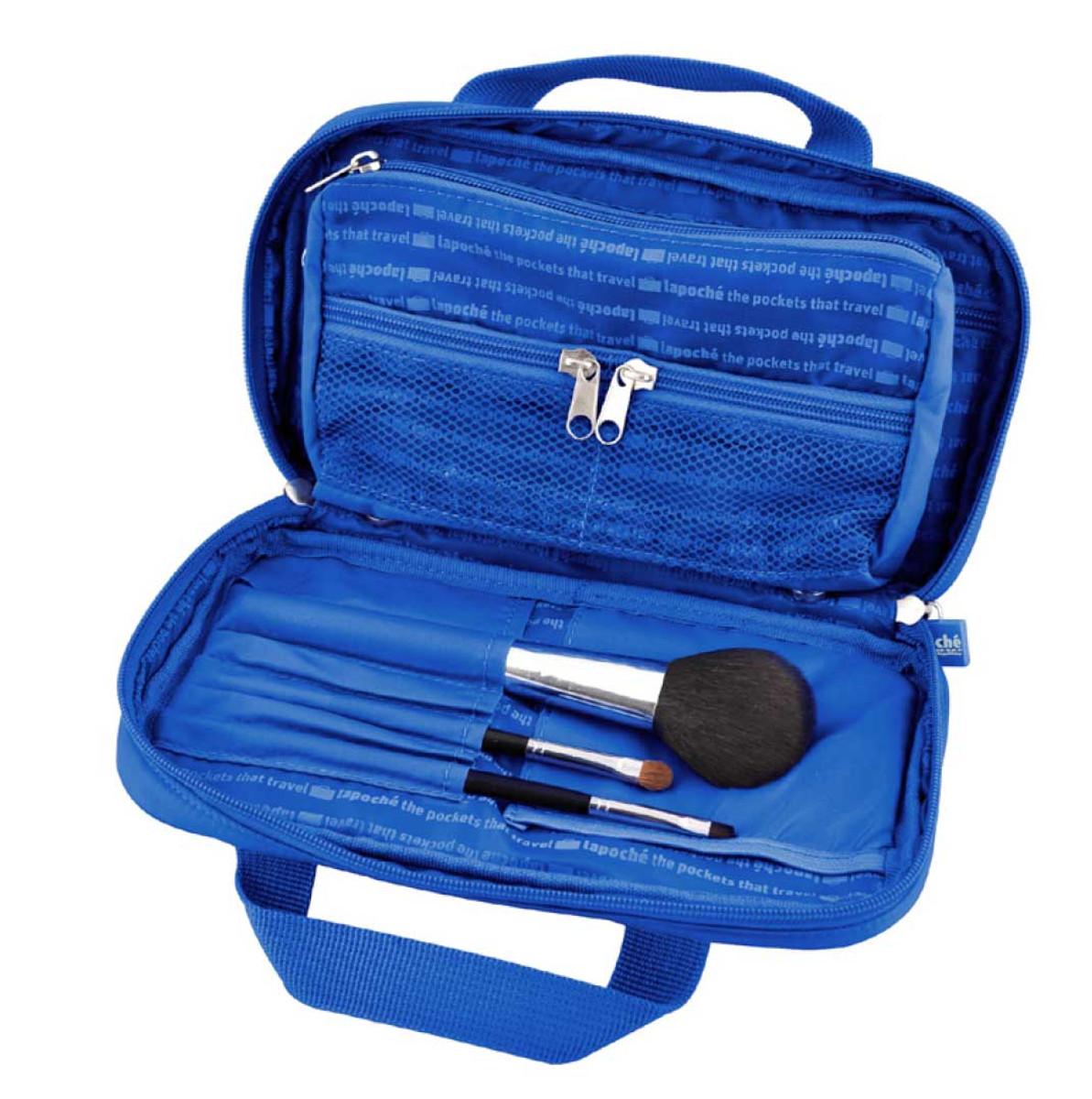 LaPoche Make me up bag, blue