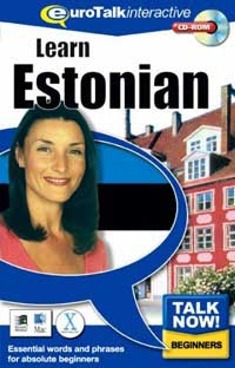 Estonian - Talk Now CD-ROM  language course (beginners)