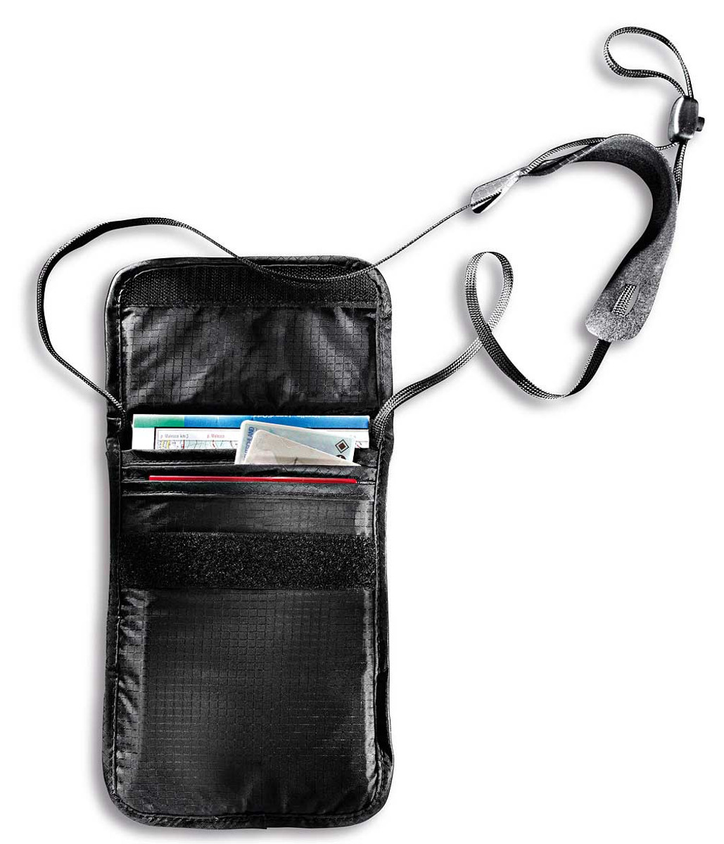 TAT 2845 Tatonka Skin Folded neck pouch, black