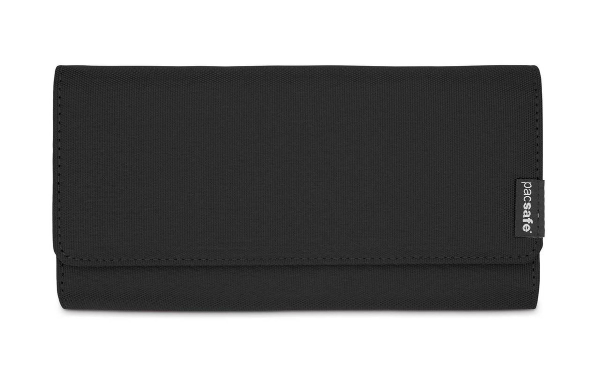 Pacsafe RFIDsafe LX200 clutch wallet purse, black