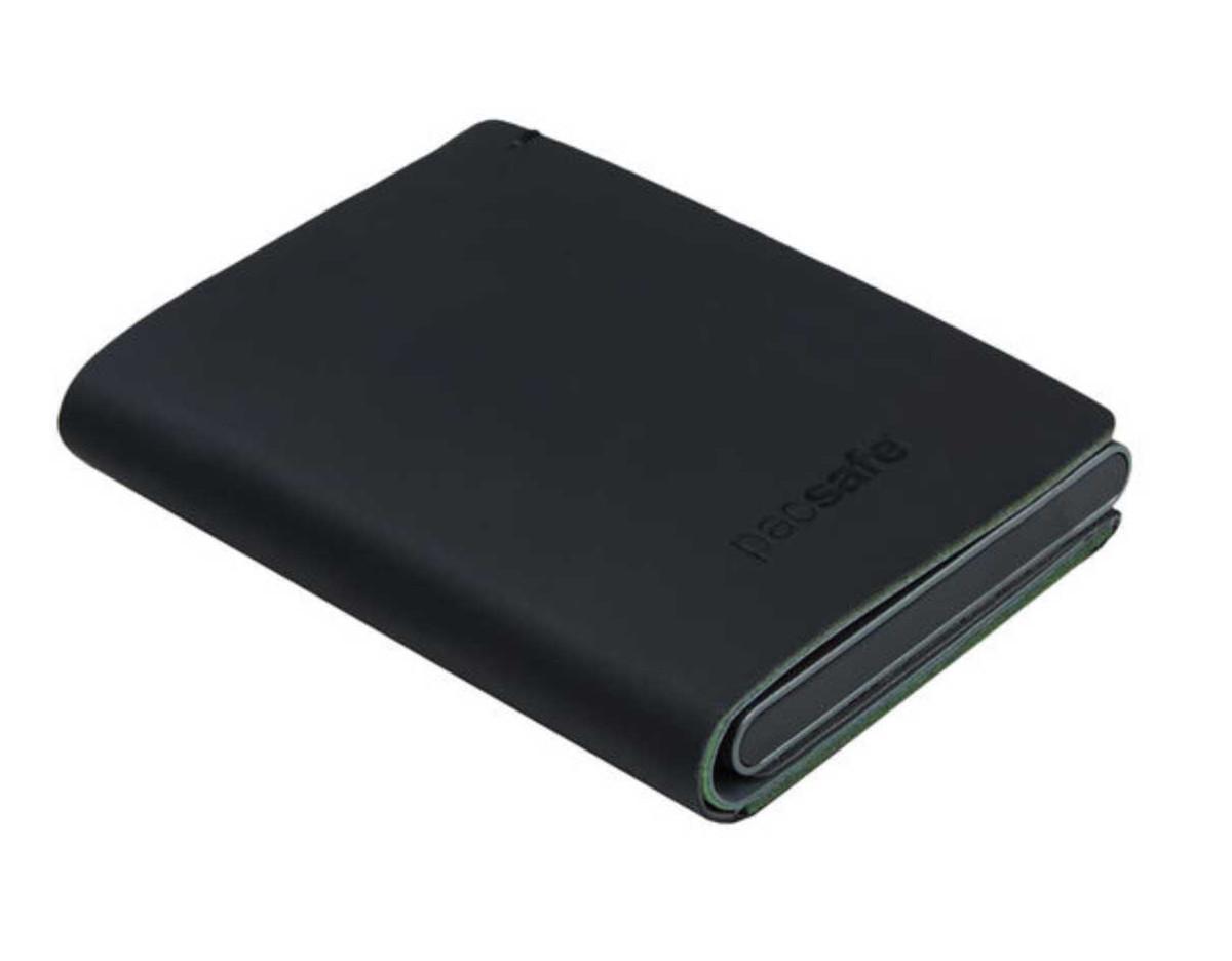 Pacsafe RFID safe tec slider wallet black