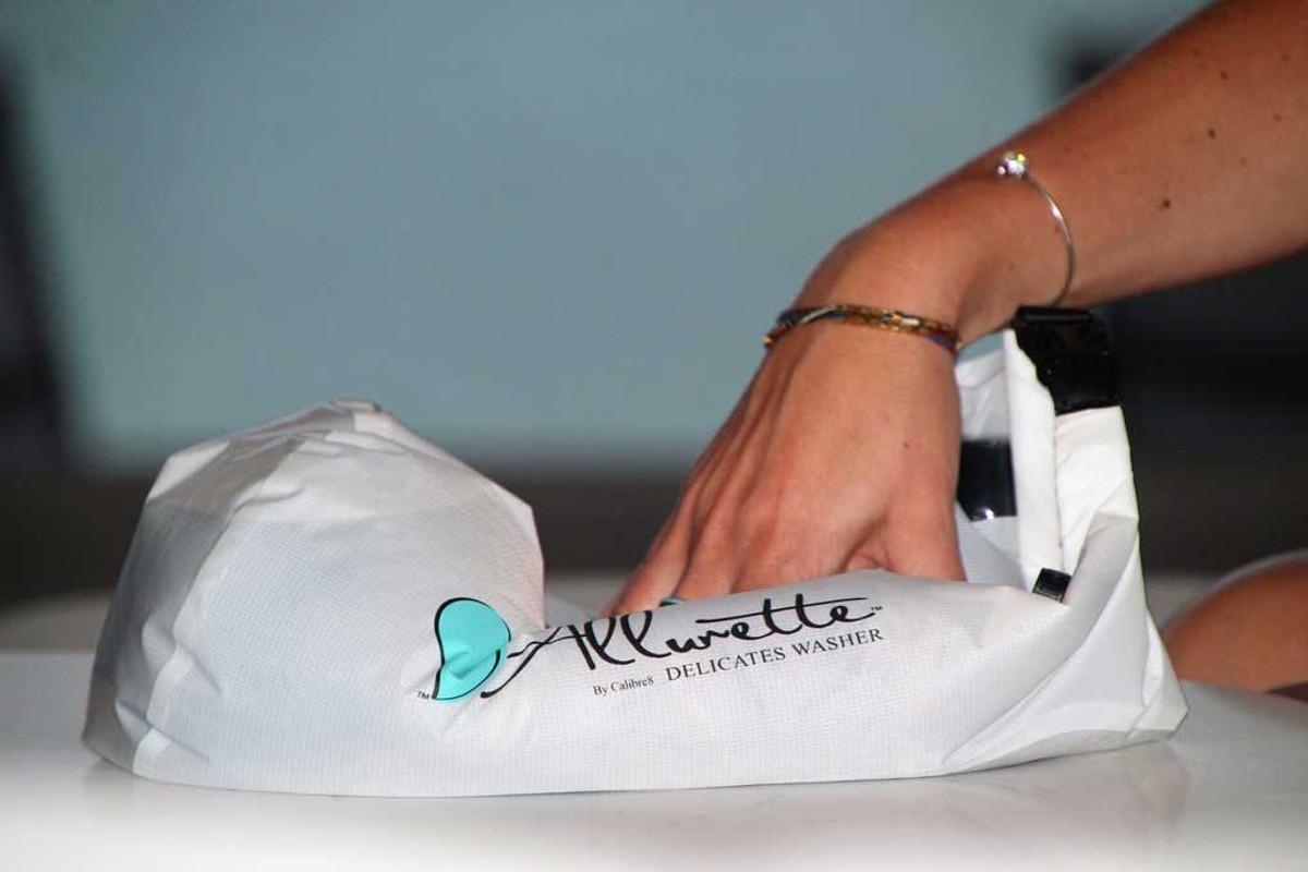 Allurette washer wash bag from Scrubba™