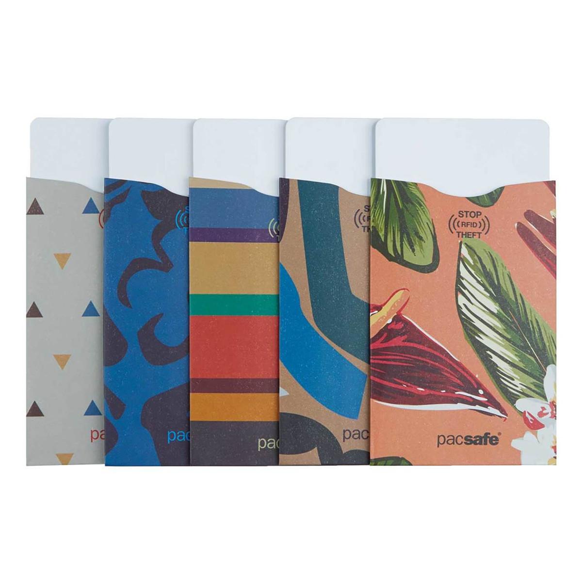 Pacsafe RFIDsleeve 25 credit card sleeve (5 pack)