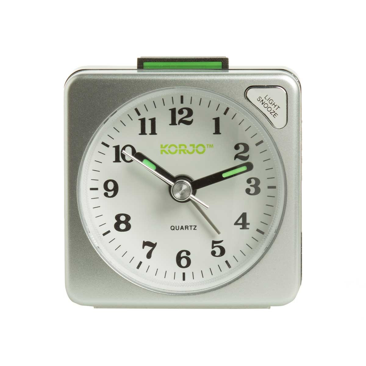 Korjo analogue alarm clock