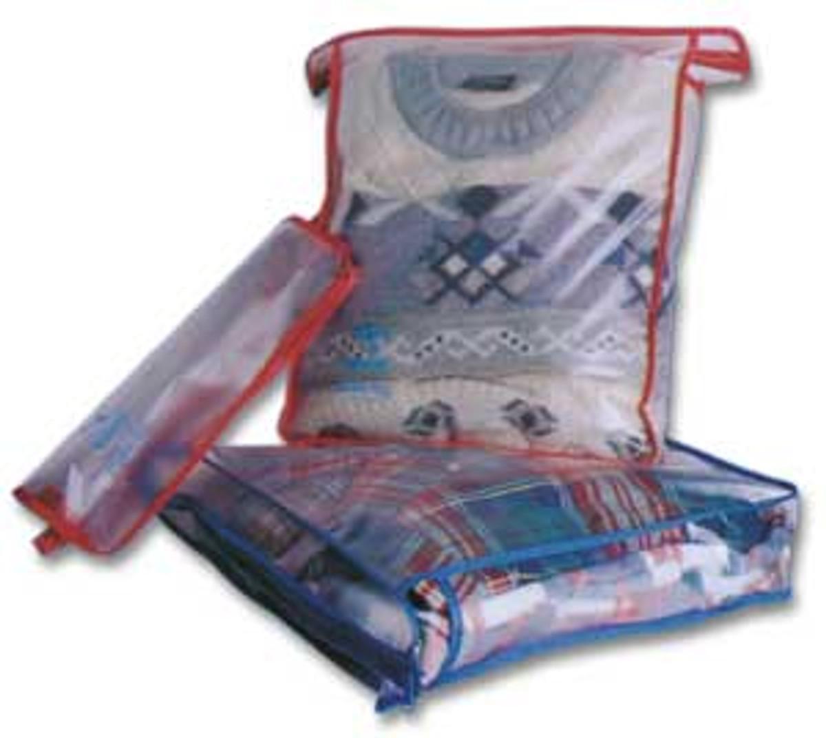 Korjo Zippered bags, pack of 2