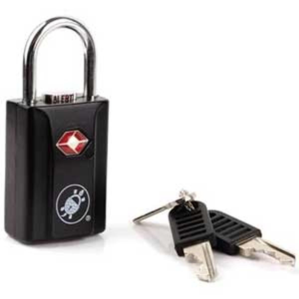 Pacsafe ProSafe 650 TSA approved padlock