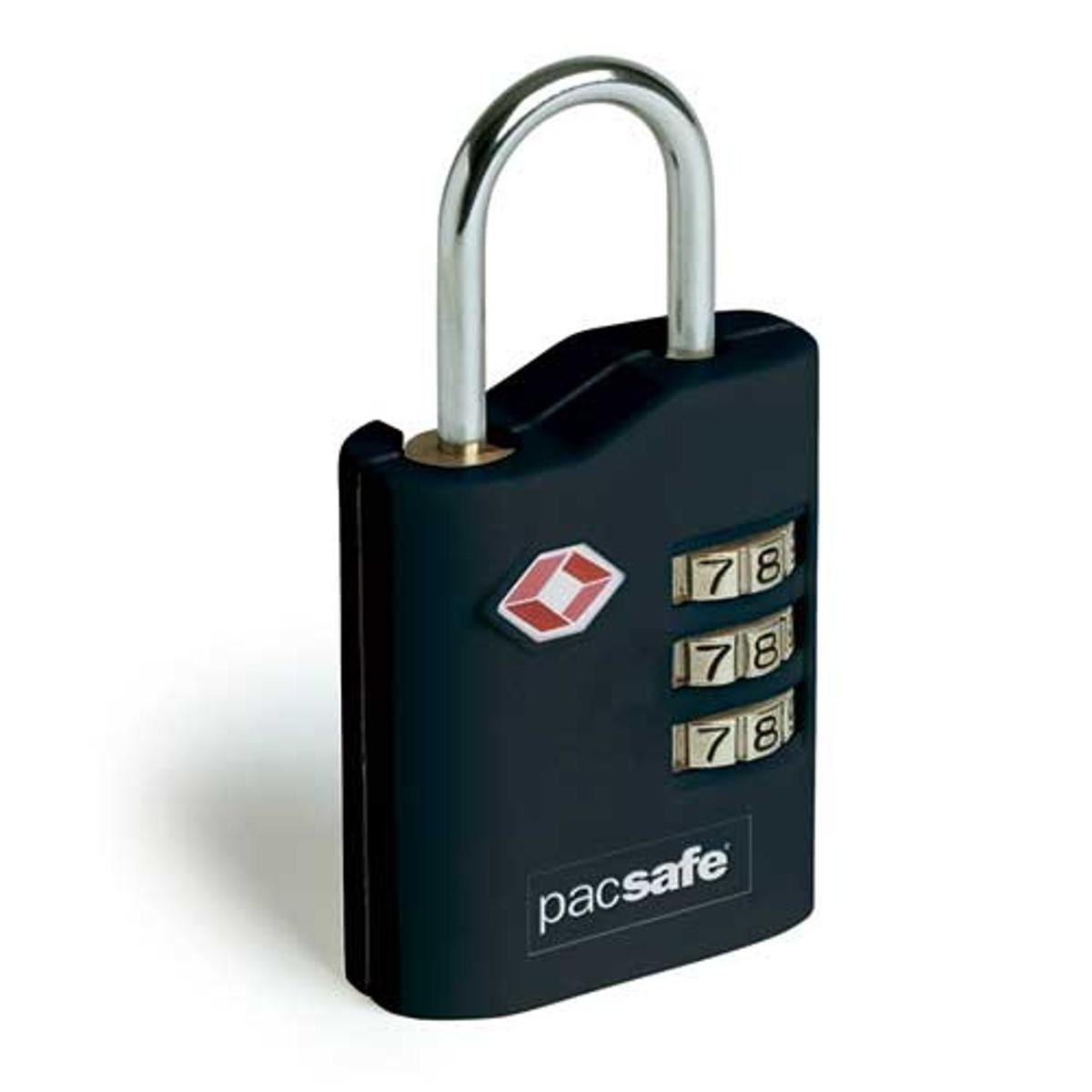PacSafe ProSafe 700 TSA approved combination lock