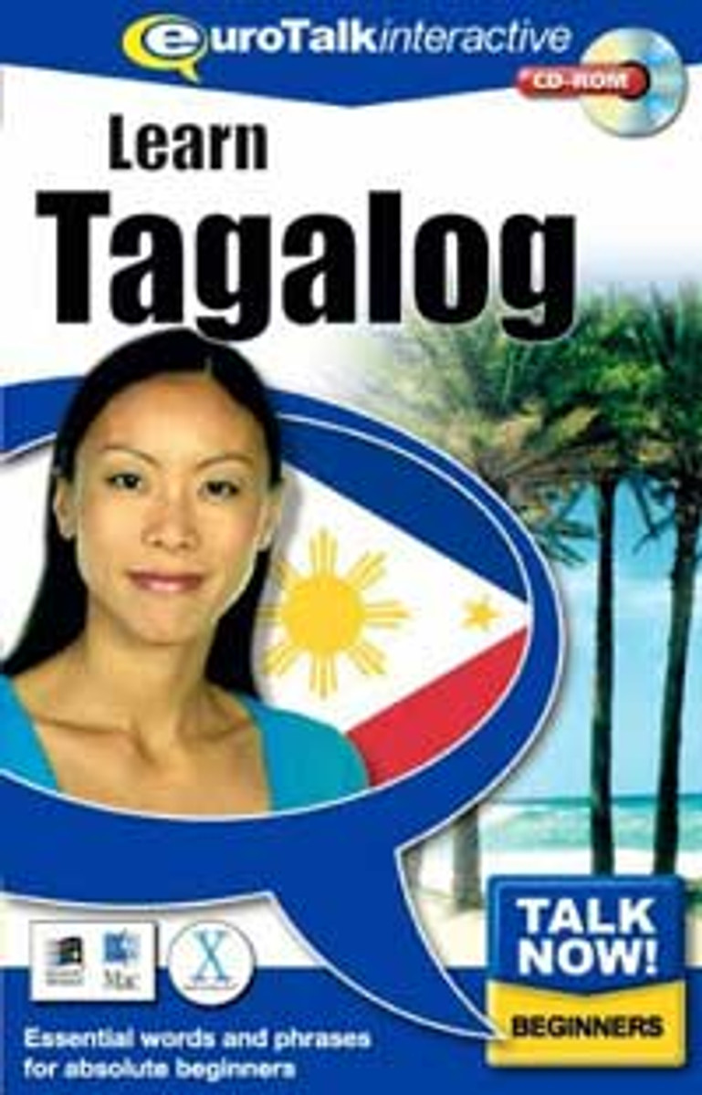 Tagalog - Talk Now CD-ROM  language course (beginners)