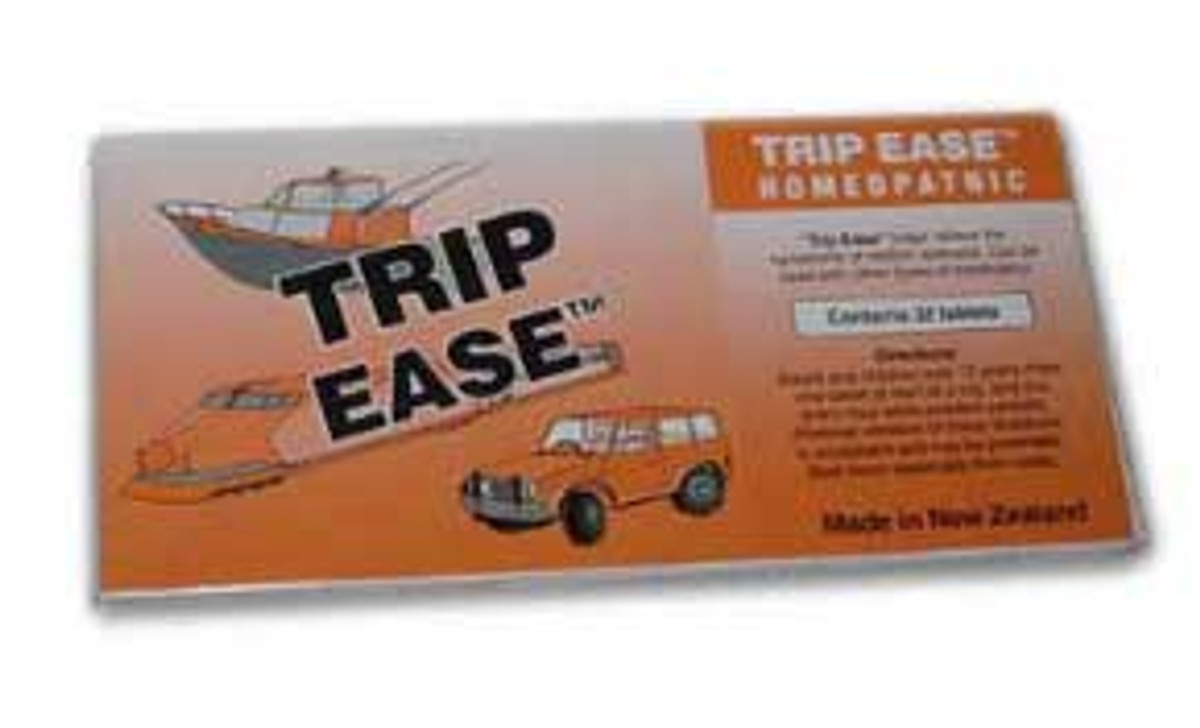 Trip Ease travel sickness tablets