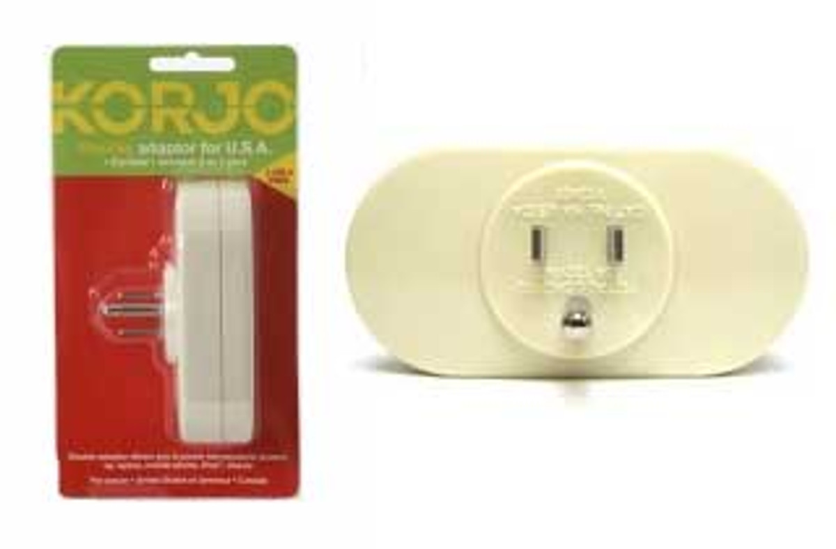 Korjo Double Adaptor Australia and NZ -> USA and Canada