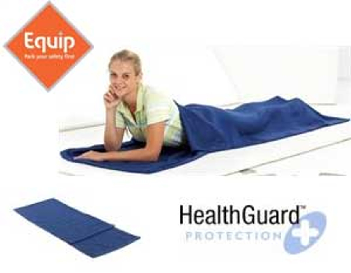 Equip silk sleeping bag liner - anti-insect and anti-bacterial (with pillow insert)