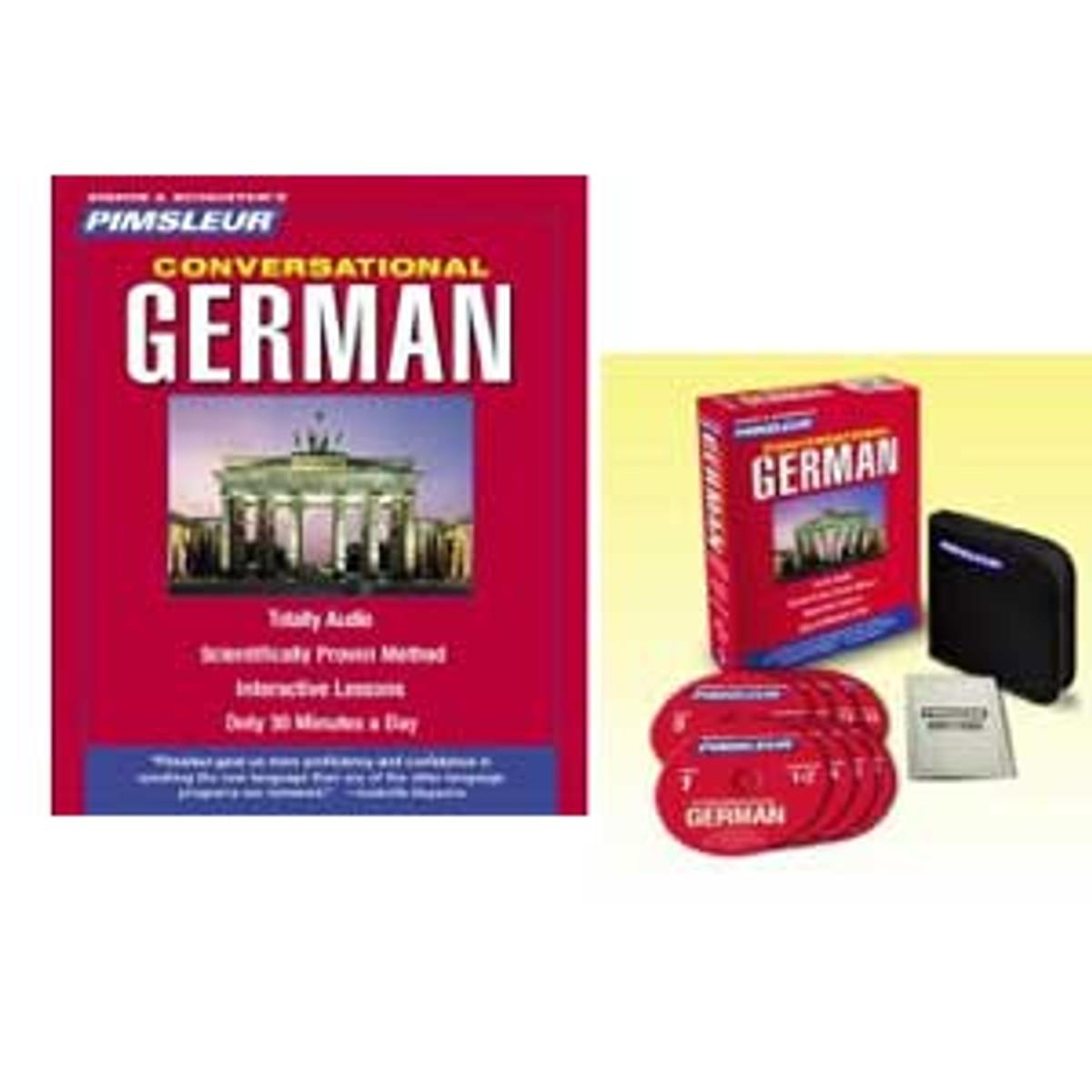 Pimsleur Conversational German audio CDs