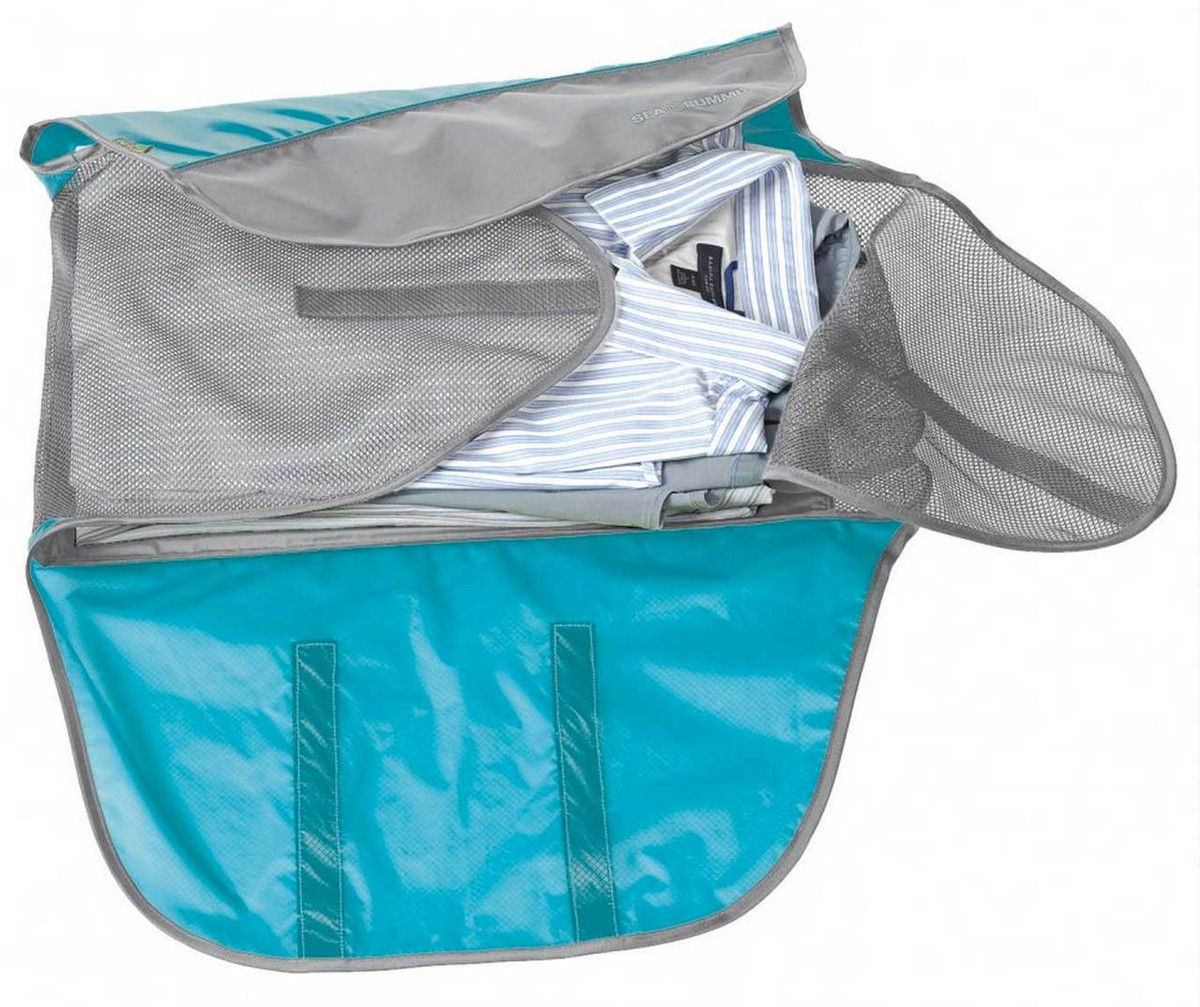 Blue Open Shirt Folder