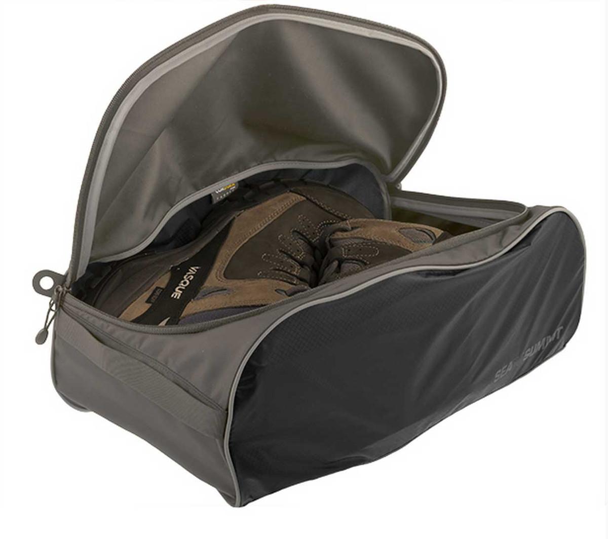 Travelling Light shoes bag, large, black