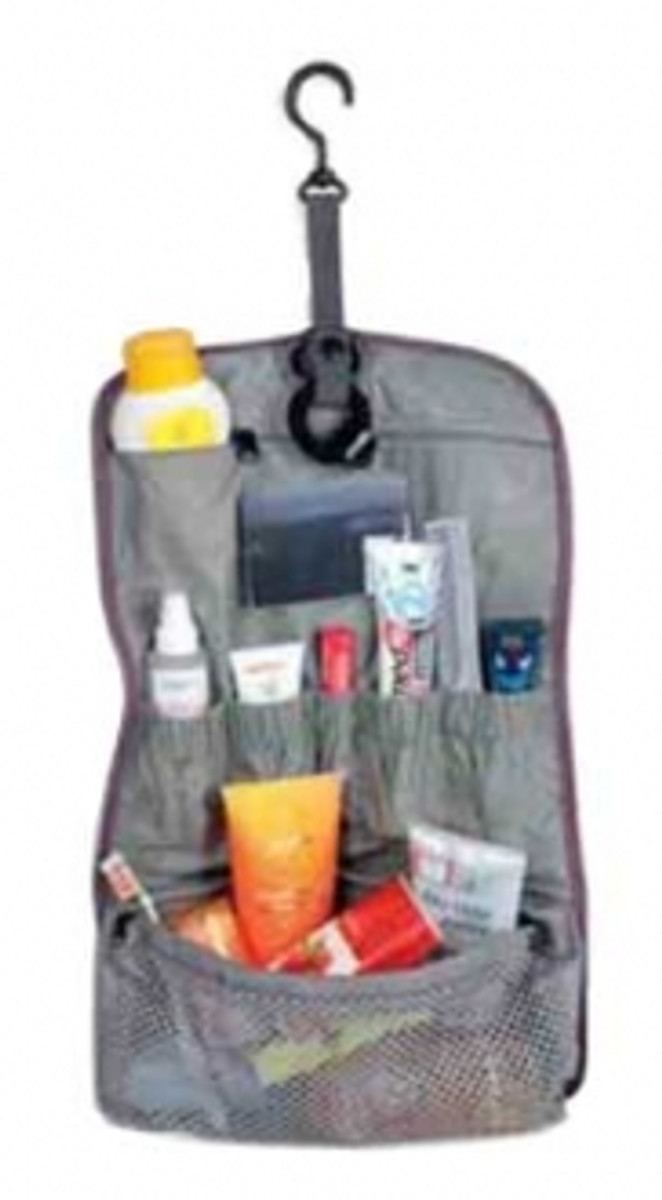 Tatonka Travelkit foldable toiletries bag