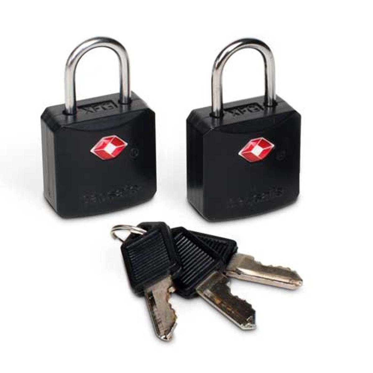 Pacsafe Prosafe 620 TSA approved luggage locks