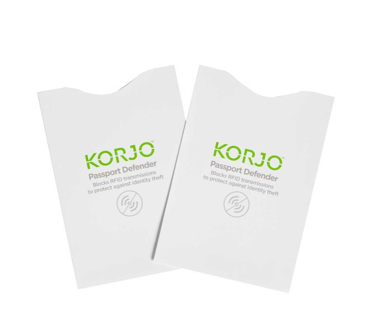 Korjo RFID Passport Defender, pack of 2