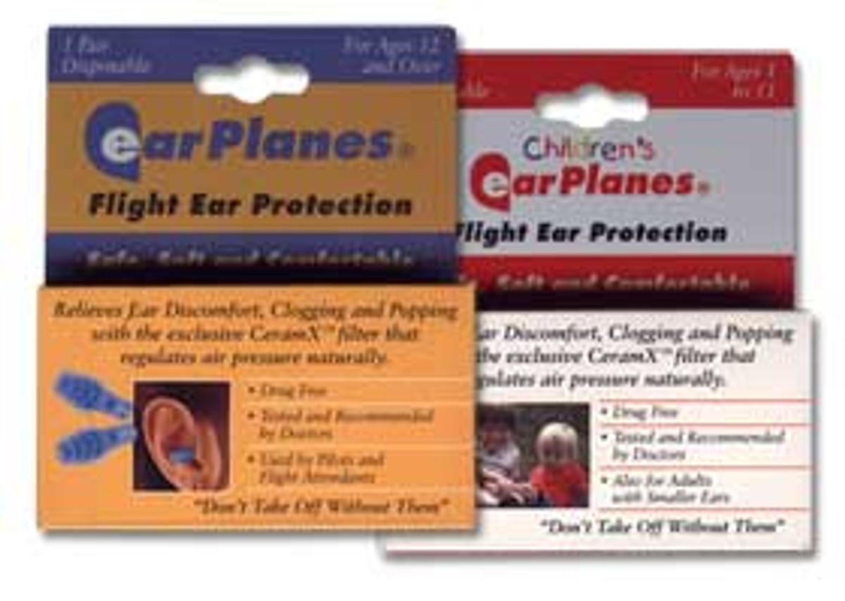 Ear Planes in-flight ear protection
