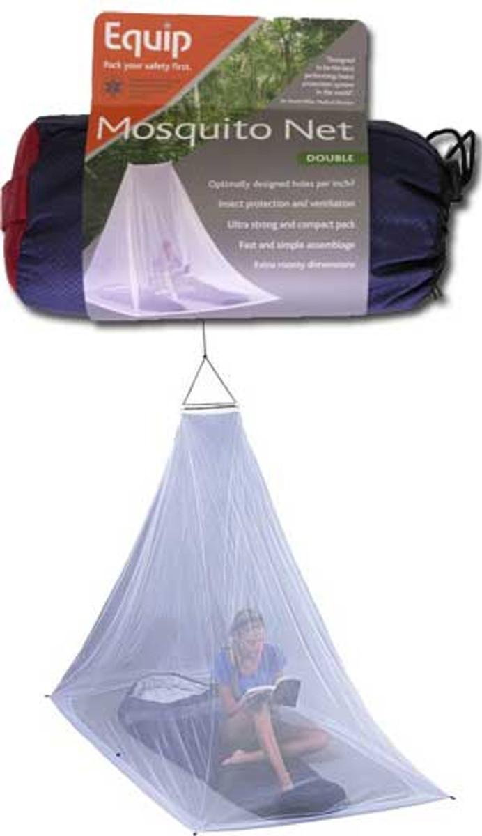 Equip mosquito net, double