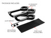 Motorbike Headlight Brackets CNC Aluminium HIGH QUALITY (size options available)