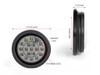 "Car Van Pick Up Truck Jeep Trailer 4"" LED Reverse Lights Flush Mount Smoked Lens"