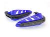BLUE Motorbike Quad Bike Handguards Protectors Bulit In Indicators Turn Signals