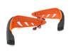 ORANGE Motorbike Quad Bike Handguards Protectors LED Daytime Running Lights DRL