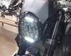 "Headlight 7.7"" Projector LED for Cafe Racer Retro Custom Motorbike Motorcycle"